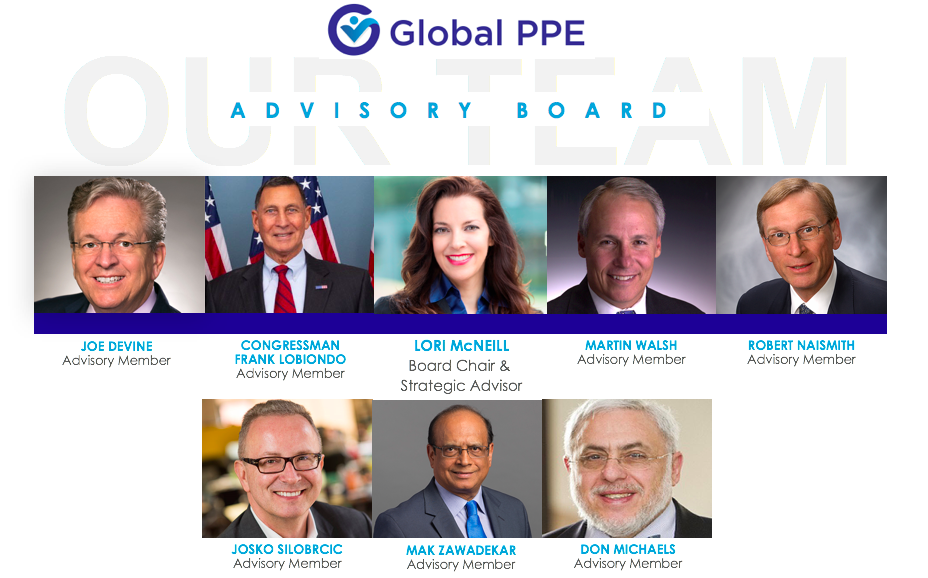 Global PPE Formalizes Inaugural Advisory Board Members